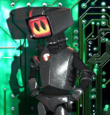 """Custom Mascots: Ogden-Weber Area Technical College's """"Randy Robotech"""""""
