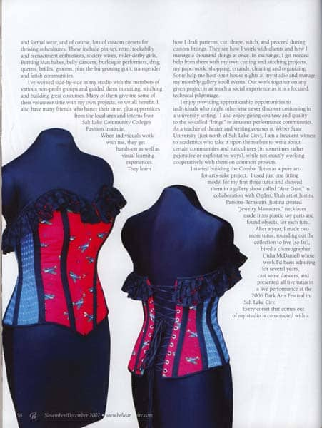 Belle Armoire combat tutu article p58