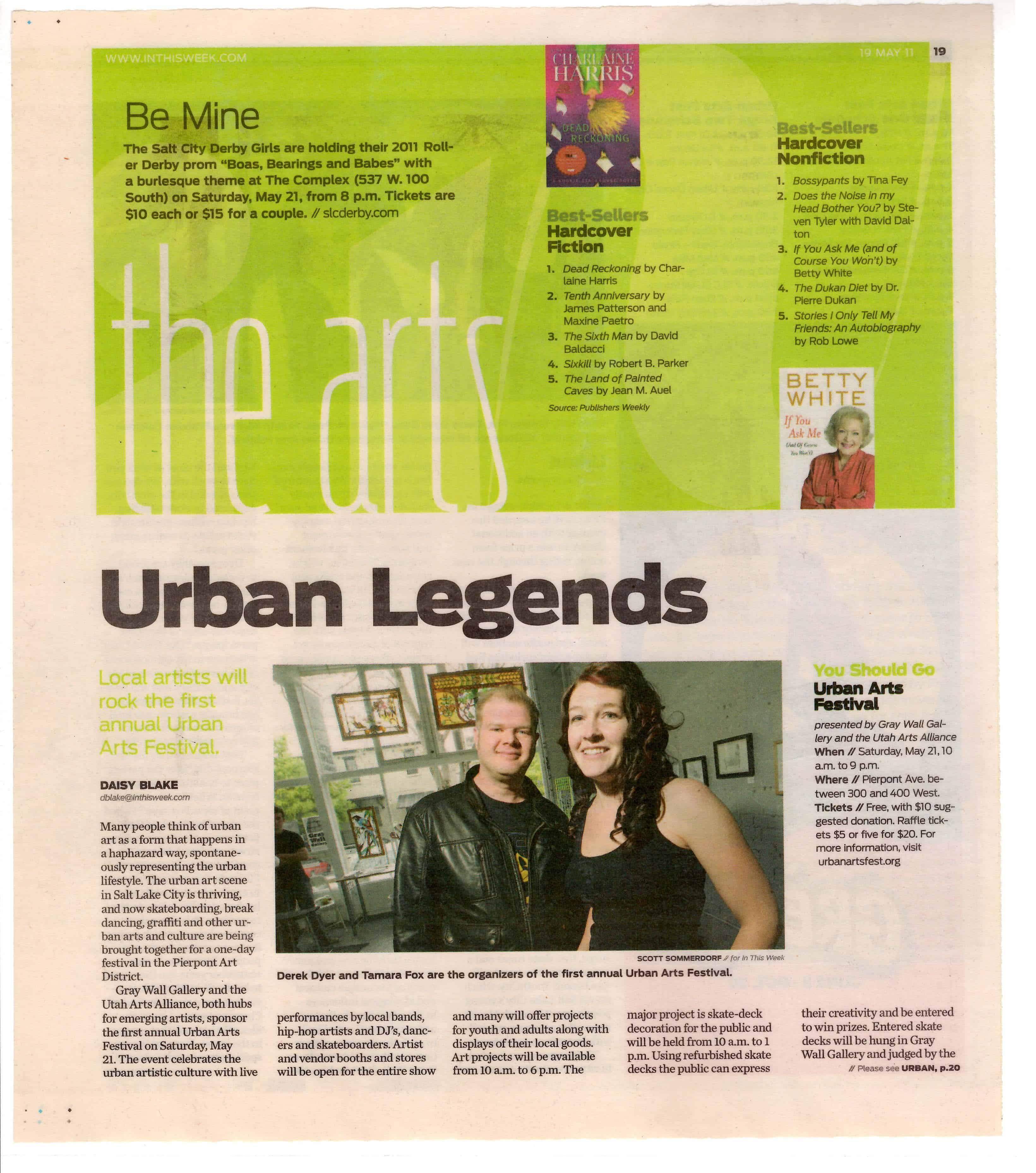 Urban Arts Fest Article