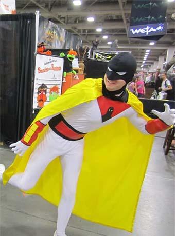 Custom Superheros: Space Ghost
