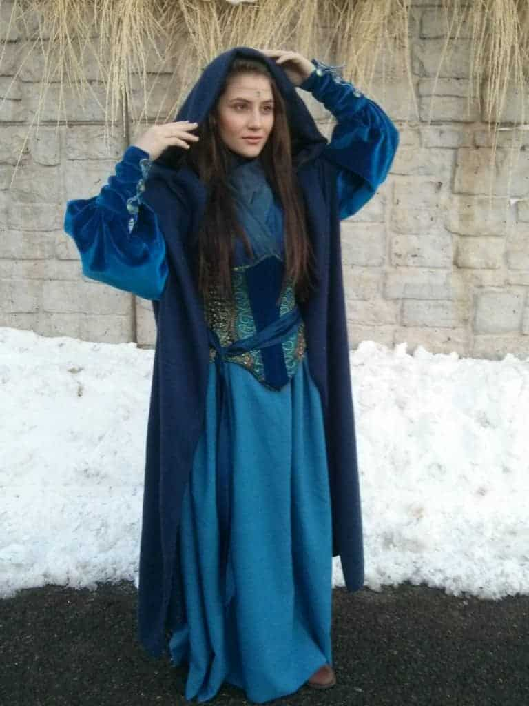 Kabrina Miller as Moiraine Damodred from our second 'Wheel of Time' inspired film, currently in production