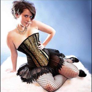 Salt Lake Tightlacer famous custom corset