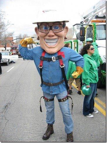 "Custom Mascots: Rocky Mountain Power's ""Slim"" the Lineman"