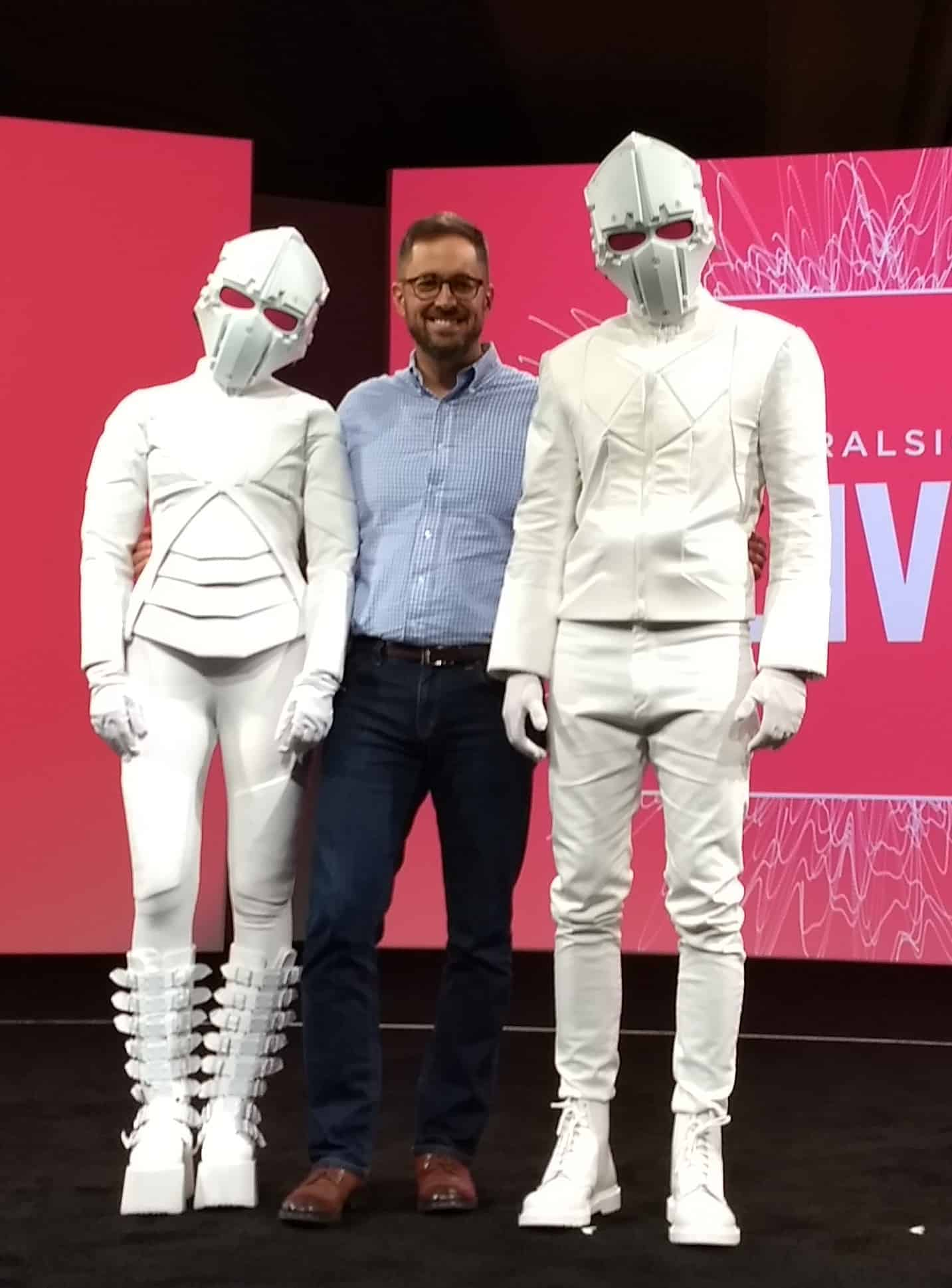 Custom Futuristic Costumes: Pluralsight video and Pluralsight Live 2017