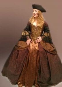 Custom 18th Century Dress: Filmed in Utah Awards Show