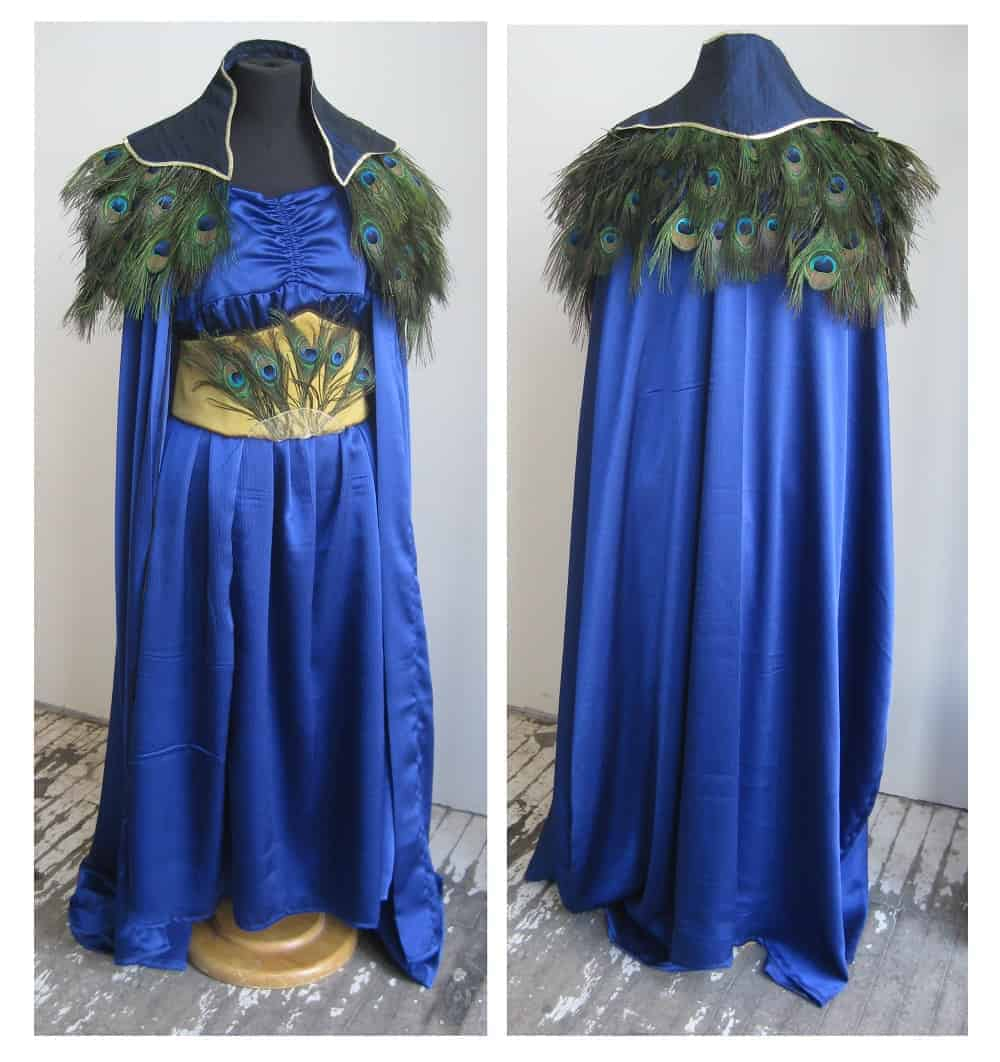 Juno, Wife of Jupiter: Custom Costume for USU's Ludi Romani Games