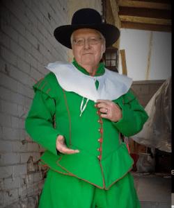Mayflower Society Custom Pilgrim