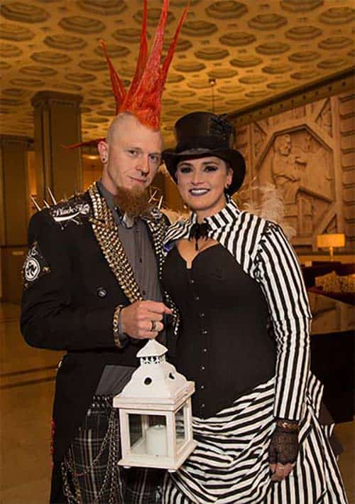 Steampunk Halloween Wedding: Koleena & Eric