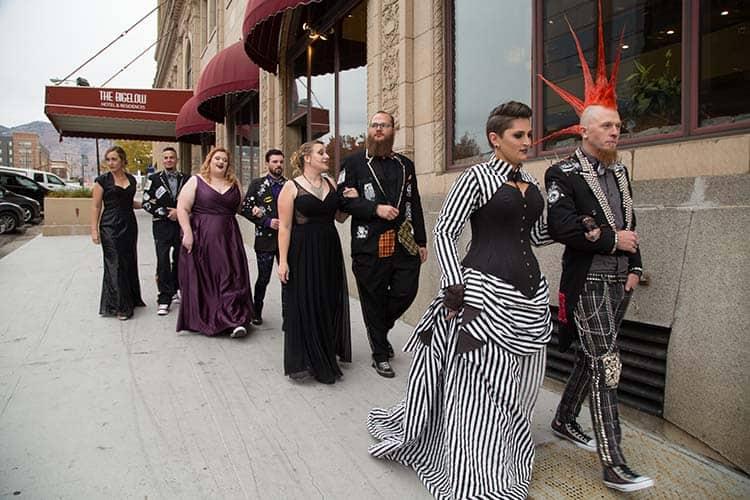 custom corset steampunk wedding