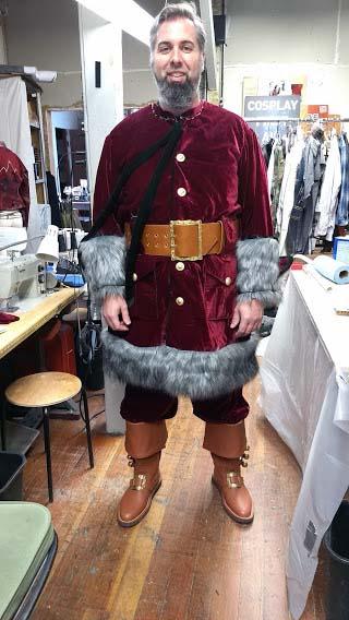delux_custom_velvet_santa_suit_fitting